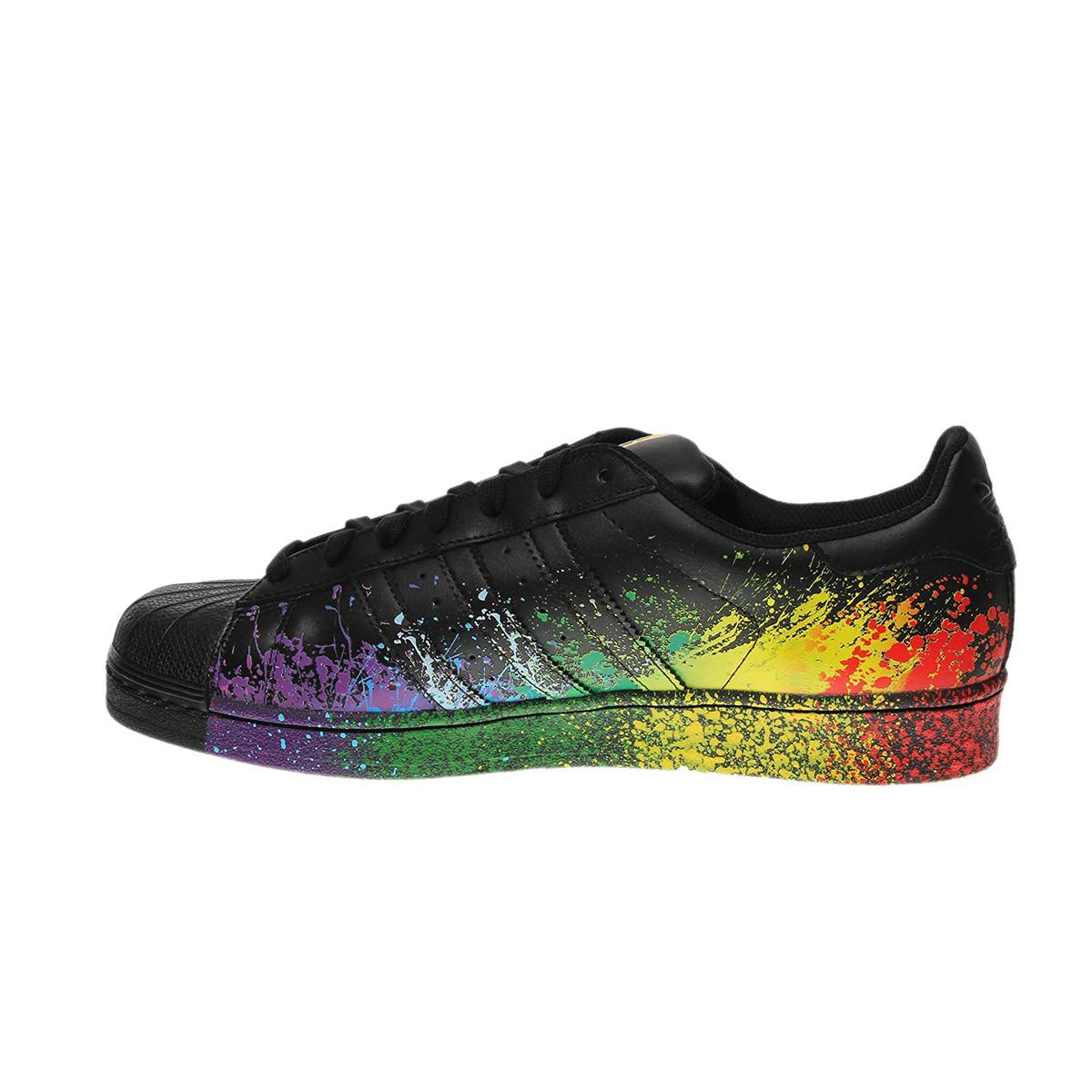 adidas superstar rainbow hue