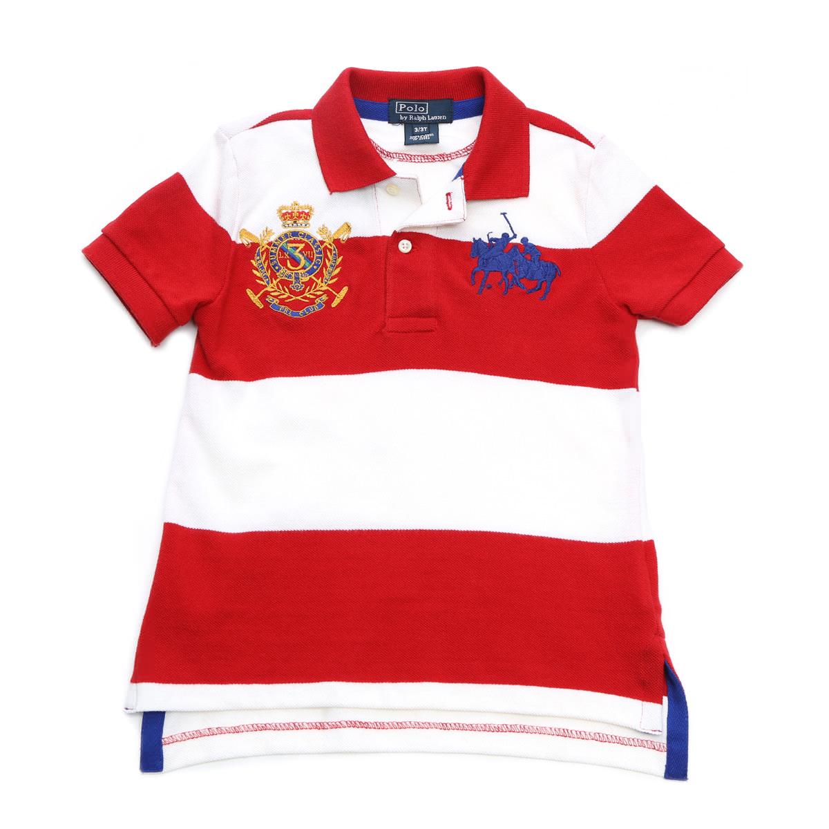 Polo Ralph Lauren Boys Classic Mesh Polo Shirt RL2000 Red, Large // 14//16
