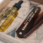 Captain Fawcett's Beard Oil & Folding Pocket Beard Comb