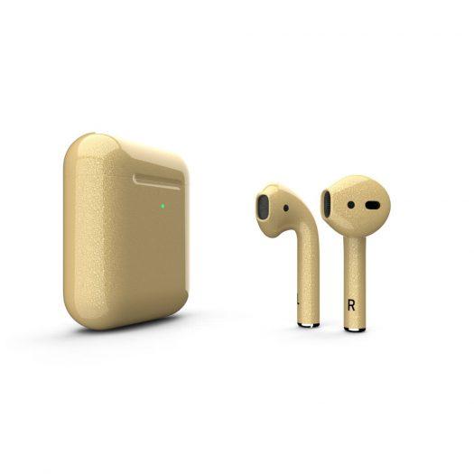 Customized  Apple AirPods GoldRush