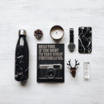 Kabi Black Marble Bottle 500ml