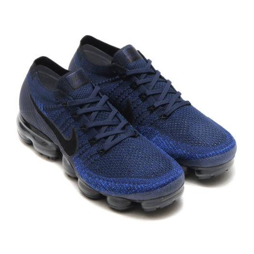 Nike Air Vapormax Flyknit College Navy Men's Sneakers (5)