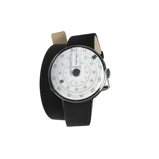 Klokers Klok 01 Black Dial Watch