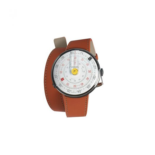 Klokers Klok 01 Yellow Dial Watch