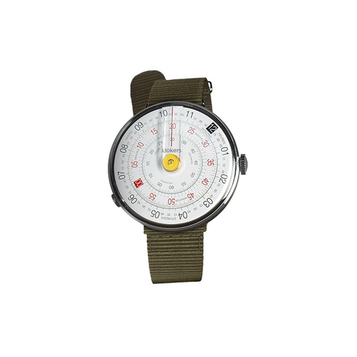 Klokers Klok 01 Textile Strap Watch