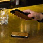 Wireless Power Bank – Wood Teak