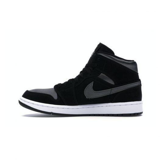 Jordan 1 Mid Nylon Black Anthracite