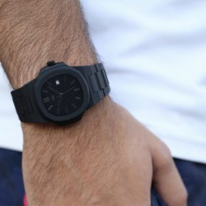 Eight Kuwait Jet Black Watch