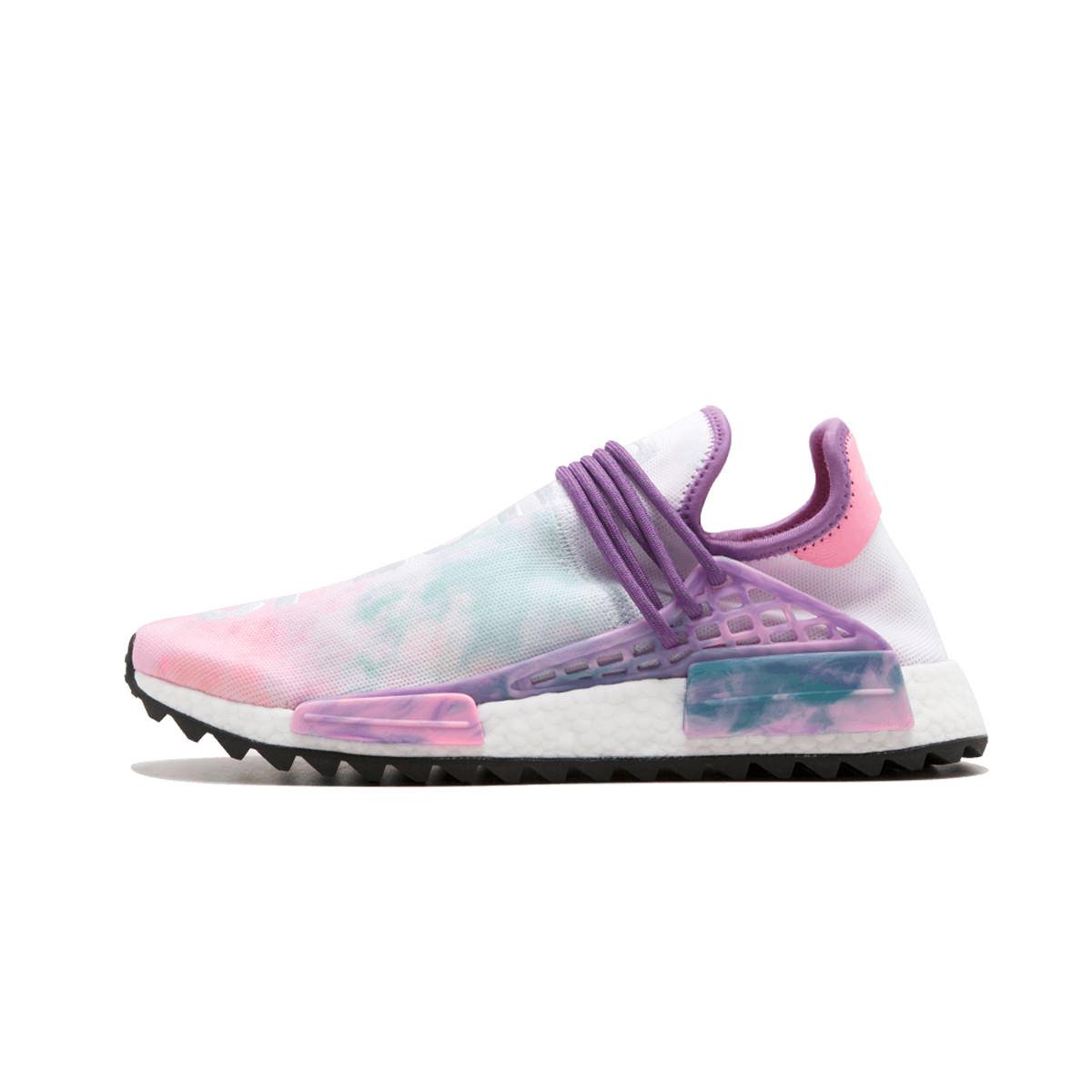 2007bdddf5c18 adidas Human Race NMD Pharrell Holi Festival (Pink Glow) - OFour