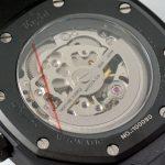 Eight Kuwait Watch Silver Skeleton