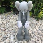Kaws Small Lie Companion Vinyl Figure Grey