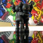 Kaws Together Vinyl Figure Black