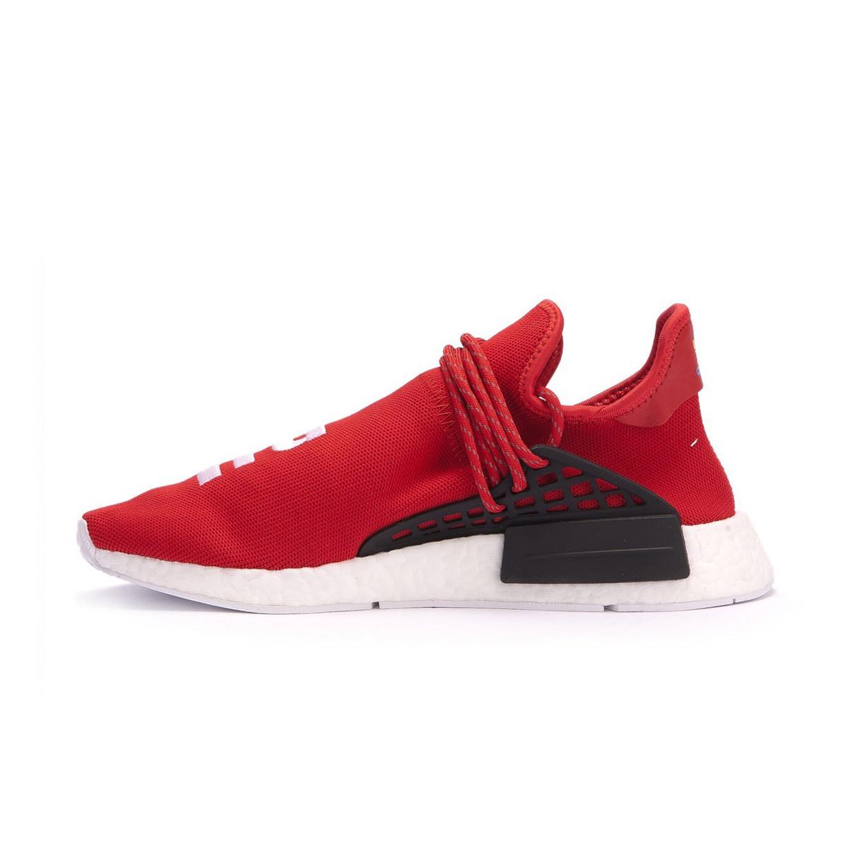 3933500751871 adidas NMD Pharrell Human Race Scarlet - OFour