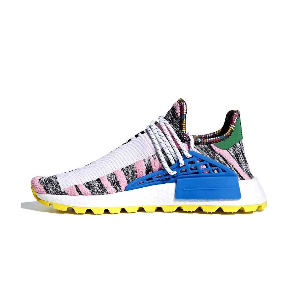 d0696e9f2 adidas NMD Hu Pharrell Solar Pack Mother - OFour