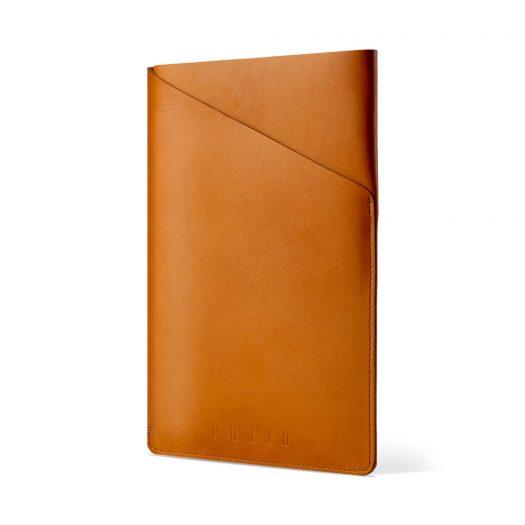 MUJJO Leather Sleeves for iPad Air & iPad Mini-Tan
