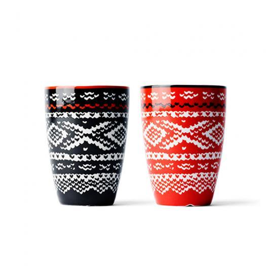 Marius Thermo Cup Red 2 Pack by MENU