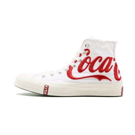 Converse Chuck Taylor All-Star 70s Hi Kith x Coca Cola White