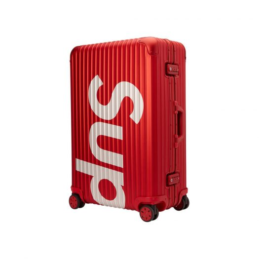 Supreme RIMOWA Topas Multiwheel 82L Red