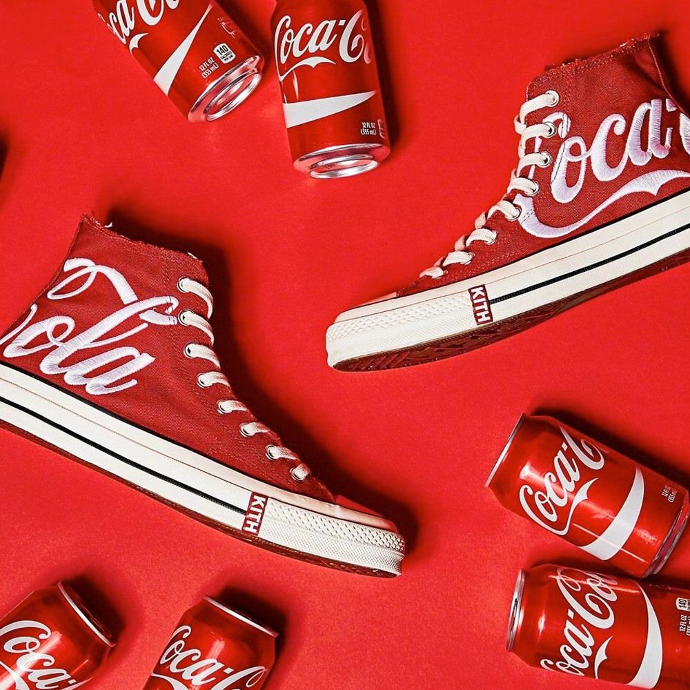 Converse Chuck Taylor All-Star 70s Hi Kith x Coca Cola RedConverse ...