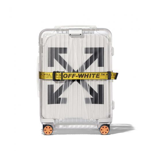OFF-WHITE™ X RIMOWA See Through Suitcase - White