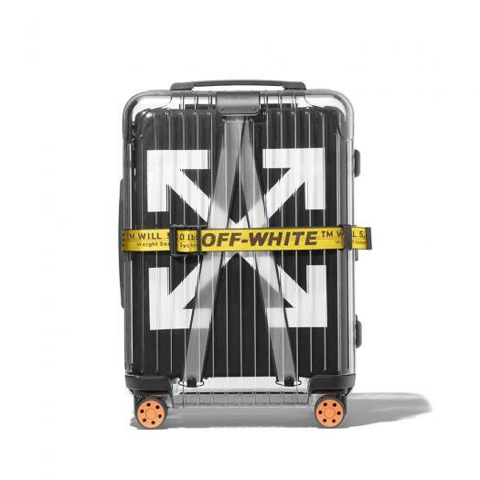 OFF-WHITE™ X RIMOWA See Through Suitcase - Black