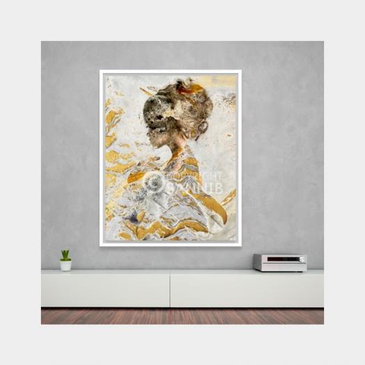 Sannib Art - The Golden Dreamer