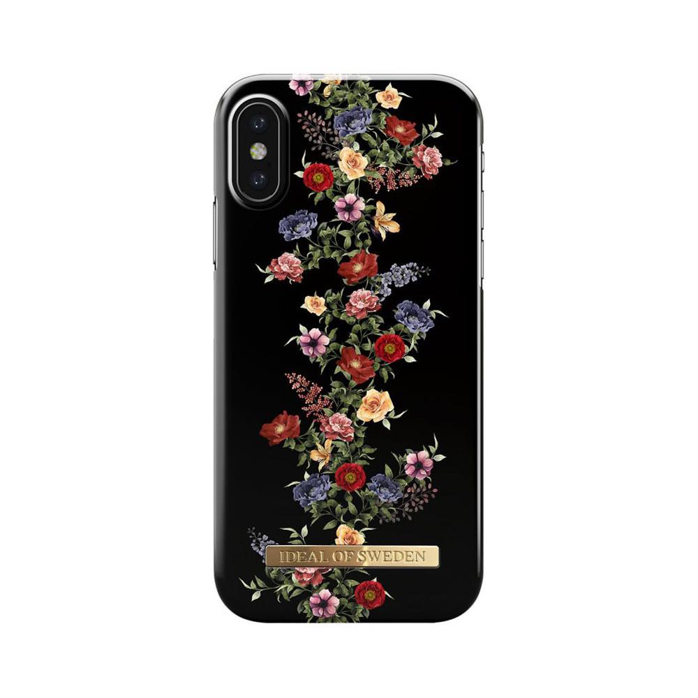 iPhone X Case – Dark Floral