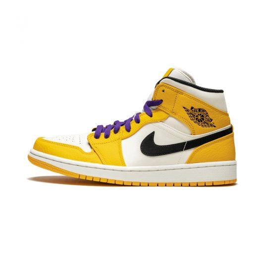 Air Jordan 1 Mid SE Lakers