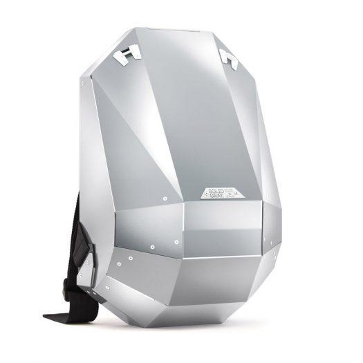 Hard-Shell Aluminium Backpack