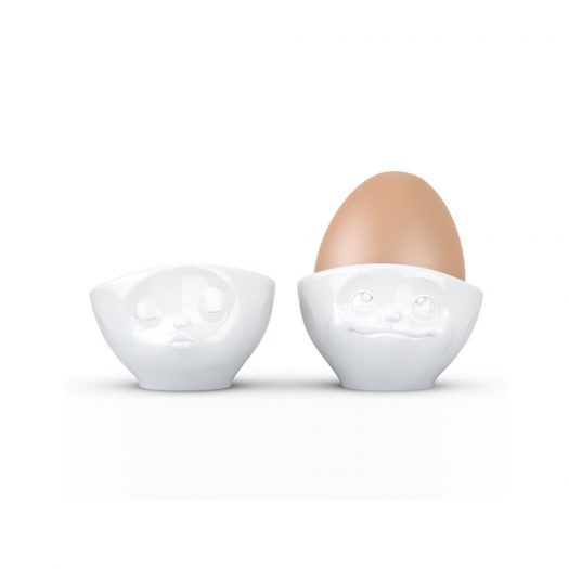 Egg Cup Set No. 1 - Kissing & Dreamy