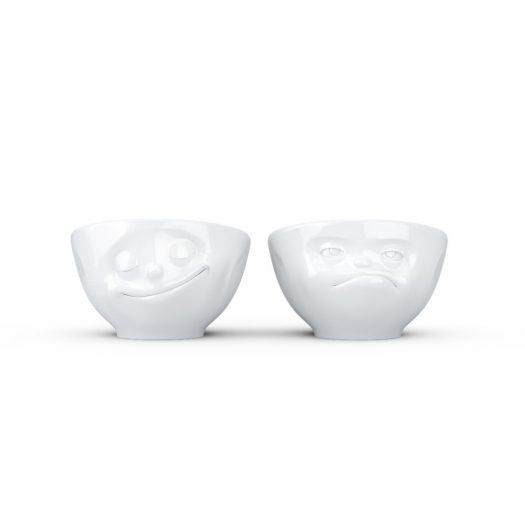 Egg Cup Set No. 3 - Happy & Hmpff