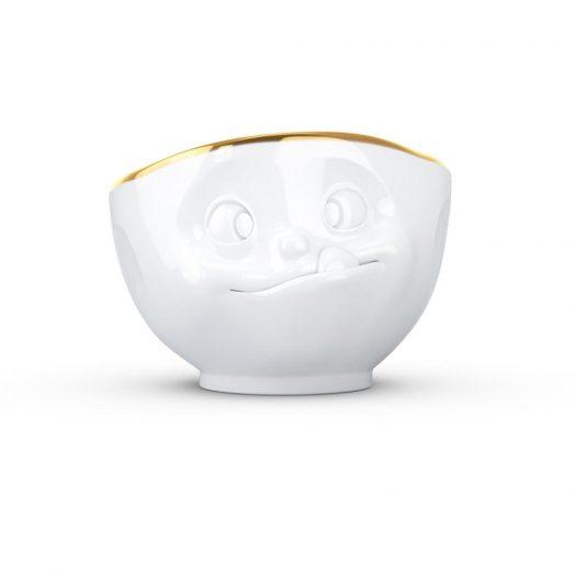 Golden Rim Bowl Tasty