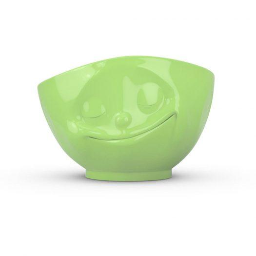 Light Green Bowl Happy