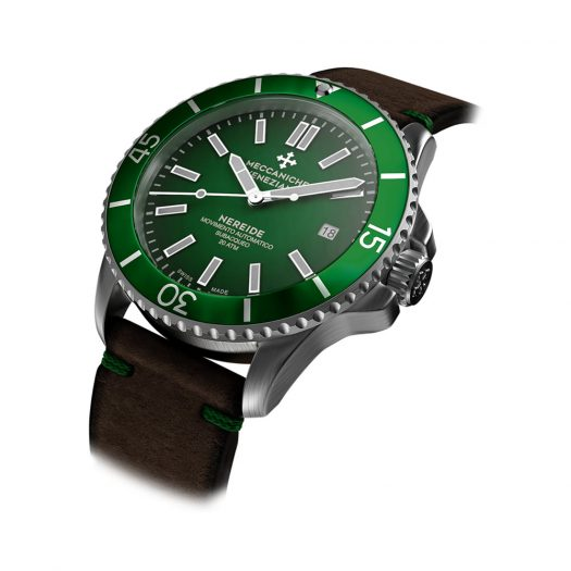 Nereide Smeraldo Watch By Meccaniche Veneziane