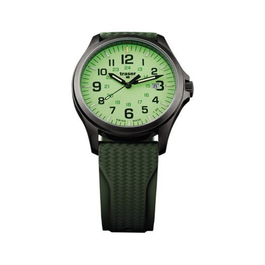 Traser - P67 Officer Pro GunMetal Lime Watch