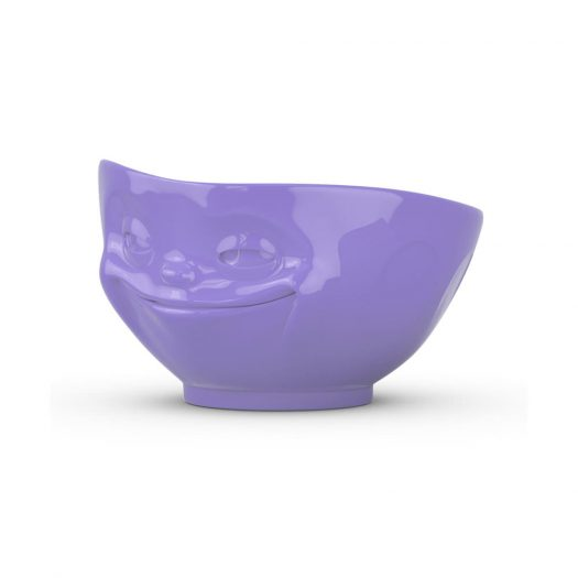 Purple Bowl Grinning
