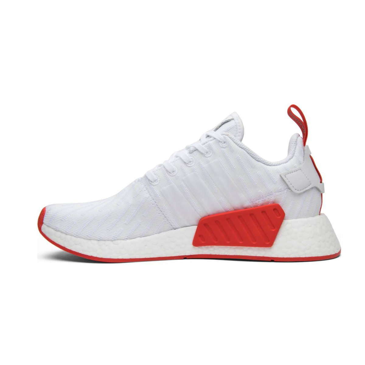 adidas NMD R2 White Core Red Two Toned
