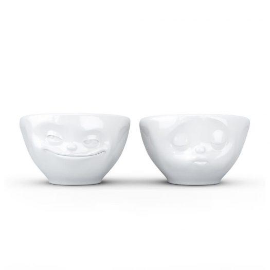 Bowls Set No.1 Grinning & Kissing