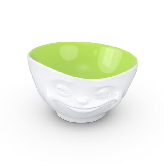 White / Pistachio Bowl Grinning