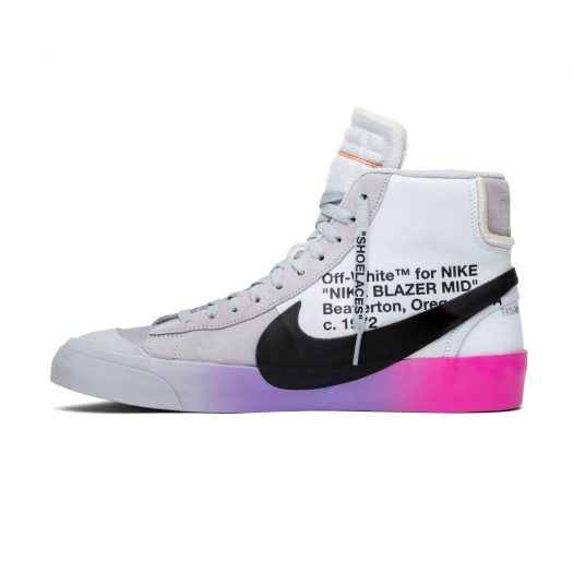 Nike Blazer Mid Off-White Wolf Grey Queen