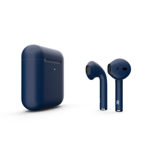 Customized Apple AirPods Matte Navy