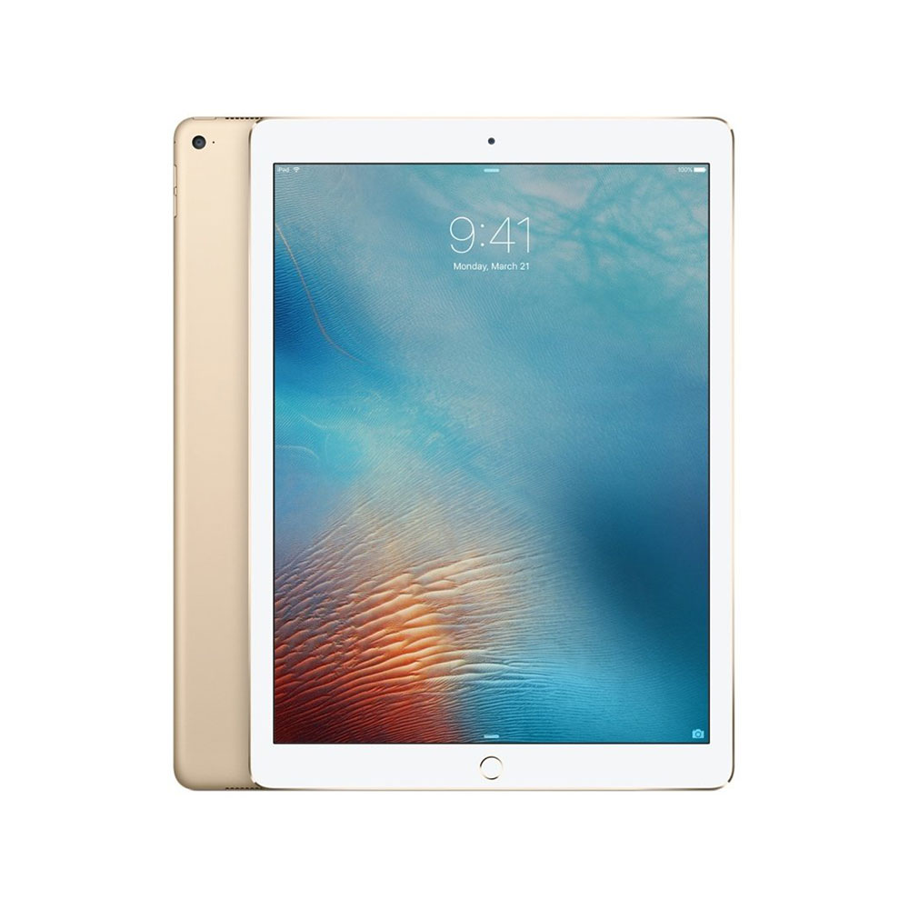 Apple iPad Pro 2017 with FaceTime – 12.9 Inch 64GB, WiFi – Gold