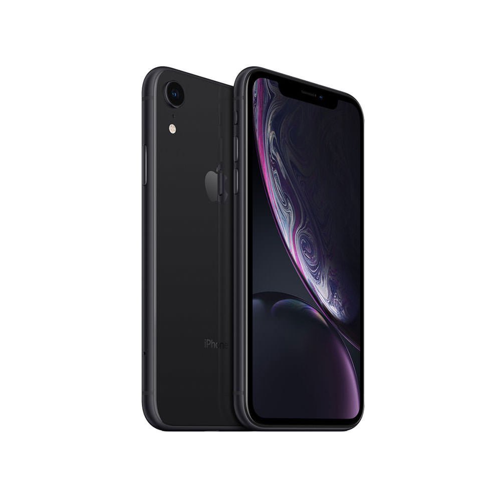 Apple iPhone XR with FaceTime – 64GB 4G LTE – Black