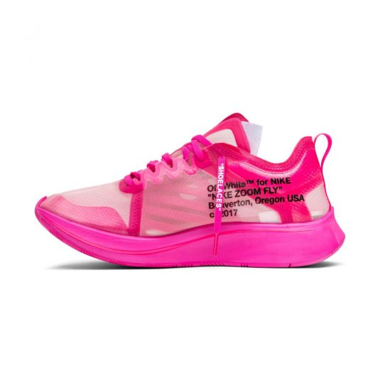 Nike Zoom Fly Off-White Tulip Pink
