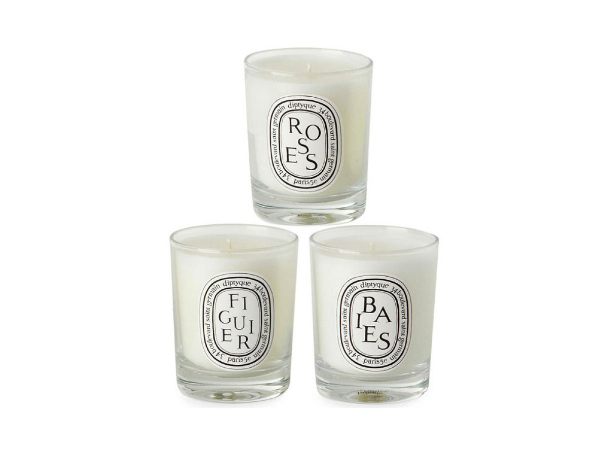 DIPTYQUE Baies Figuier and Roses Mini Candles 20 x 20g