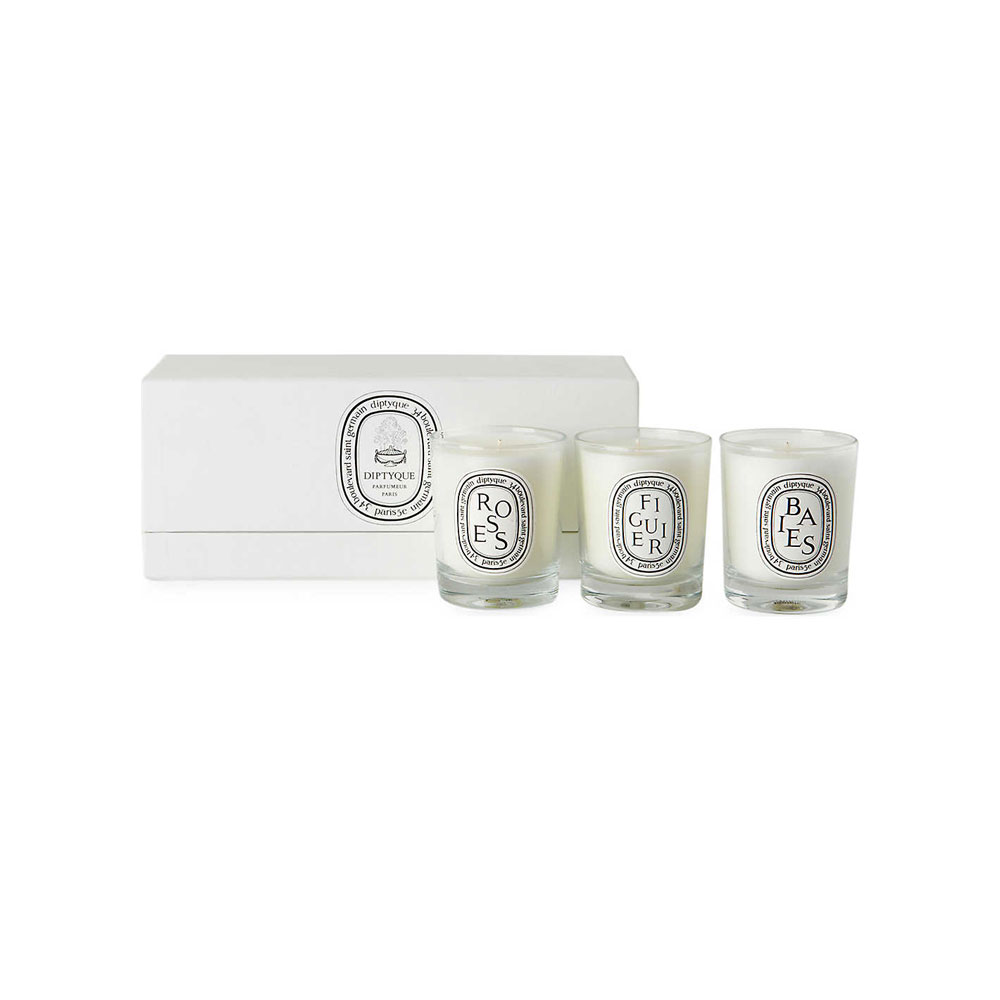 DIPTYQUE Baies Figuier and Roses Mini Candles 20 x 20gDIPTYQUE ...