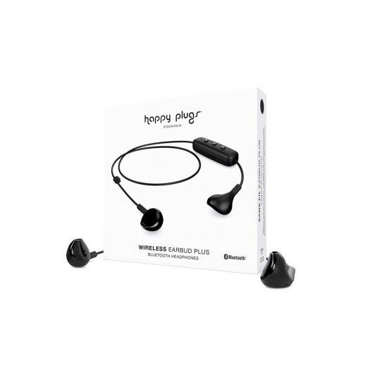 Happy Plugs Plus Wireless Earbud - Black