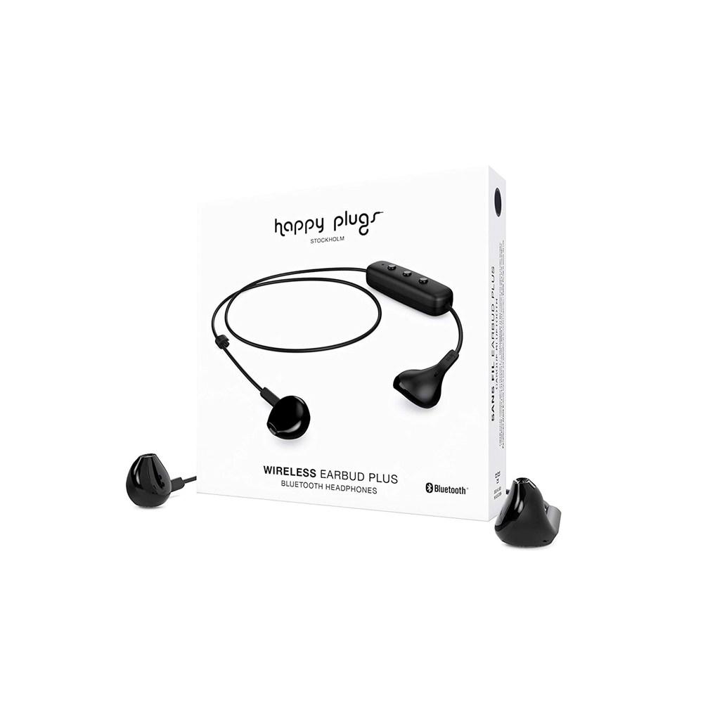Happy Plugs Plus Wireless Earbud – Black