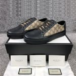 GUCCI-Common-GG-Supreme-leather-and-canvas-trainers5