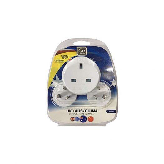 Electronic Adaptor UK-AUS/China - Go Travel 537